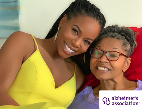 Brandee Evans Celebrates Life By Making Memories with Mom